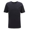 Hugo Boss - Lecco 80 Crew Neck T-Shirt in Navy - Nigel Clare