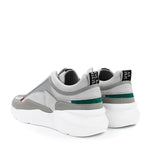 Nubikk - Elven Boulder Nubuck Trainer in Light Grey - Nigel Clare