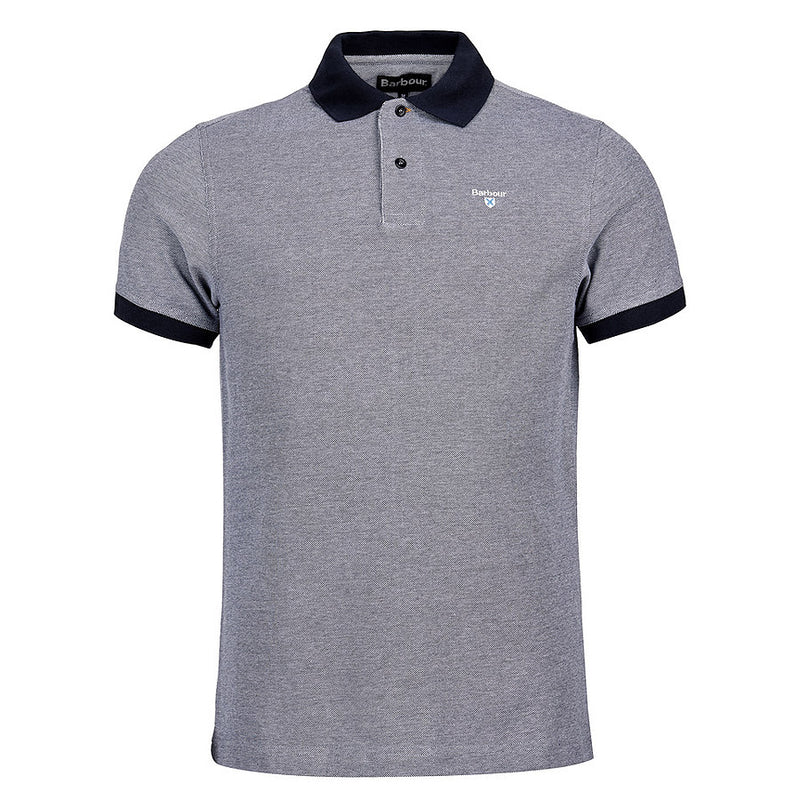 Barbour - Sports Polo Shirt in Midnight Blue Mix - Nigel Clare