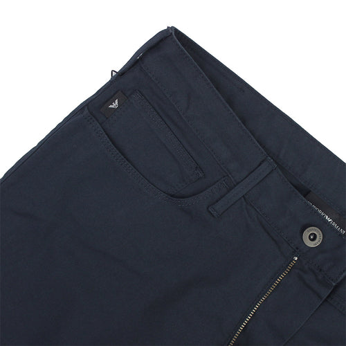 Emporio Armani - J06 1N0LZ Slim Fit Navy Stretch Chino Jeans - Nigel Clare