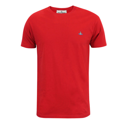Vivienne Westwood - Orb Logo T-Shirt in Red - Nigel Clare