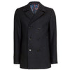 Ted Baker - WESTUN Double Breasted Wool Peacoat in Navy - Nigel Clare