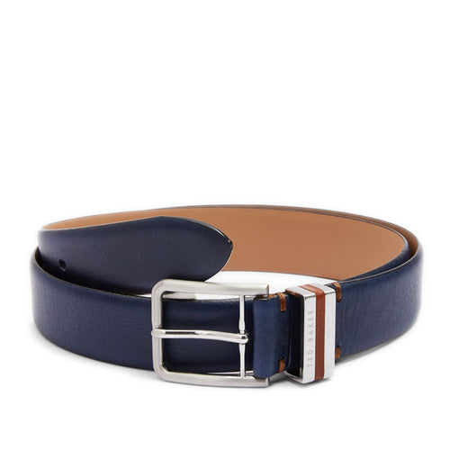 Ted Baker - Rackel Leather Belt in Navy - Nigel Clare