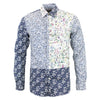 Paul Smith - Slim Fit Multi Floral Shirt in Navy