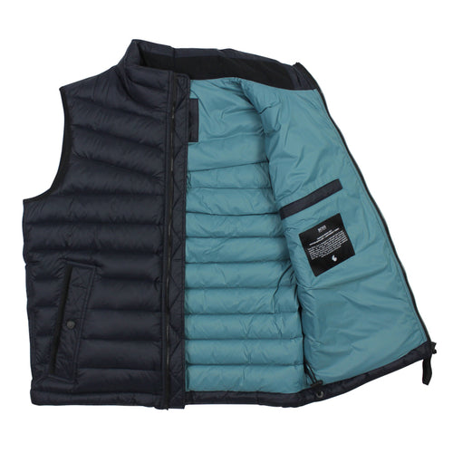 BOSS Orange - Olmeev1 Featherweight Gilet in Navy - Nigel Clare