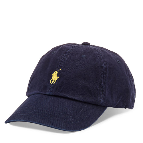 Polo Ralph Lauren - Cotton Chino Baseball Cap in Relay Blue - Nigel Clare