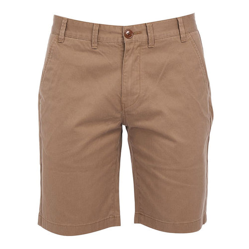 Barbour - City Neuston Reg Fit Shorts in Stone - Nigel Clare
