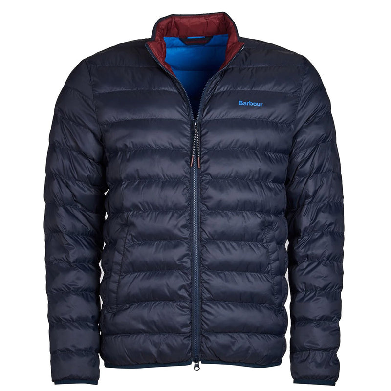 Barbour - Nigg Quilted Jacket in Navy - Nigel Clare
