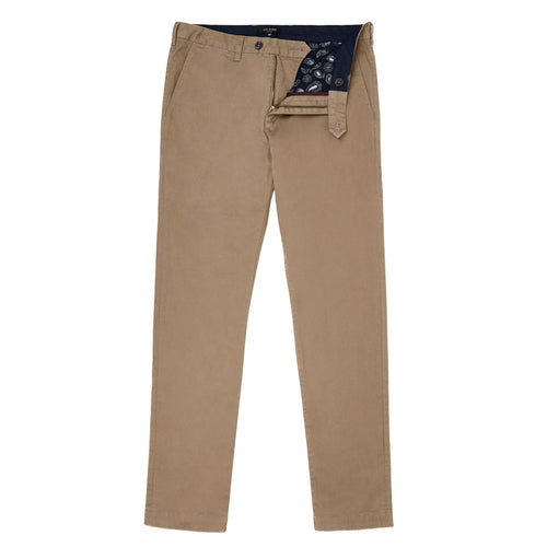 Ted Baker - SINCERE Slim Fit Chino in Natural - Nigel Clare