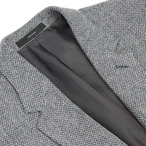 Paul Smith - Soho Tailored Fit Grey Tweed Blazer - Nigel Clare