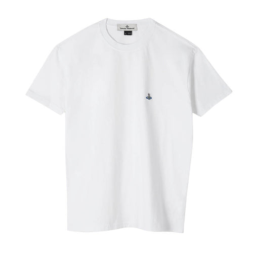 Vivienne Westwood - Logo T-Shirt in White - Nigel Clare