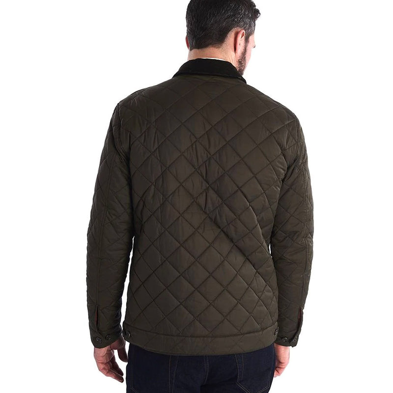 Barbour - Maesbury Quilted Jacket in Olive - Nigel Clare