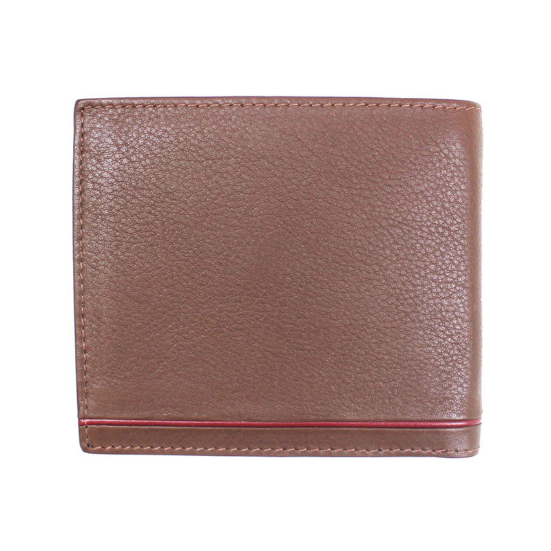 Ted Baker - Dooree Leather Bifold Wallet in Tan - Nigel Clare