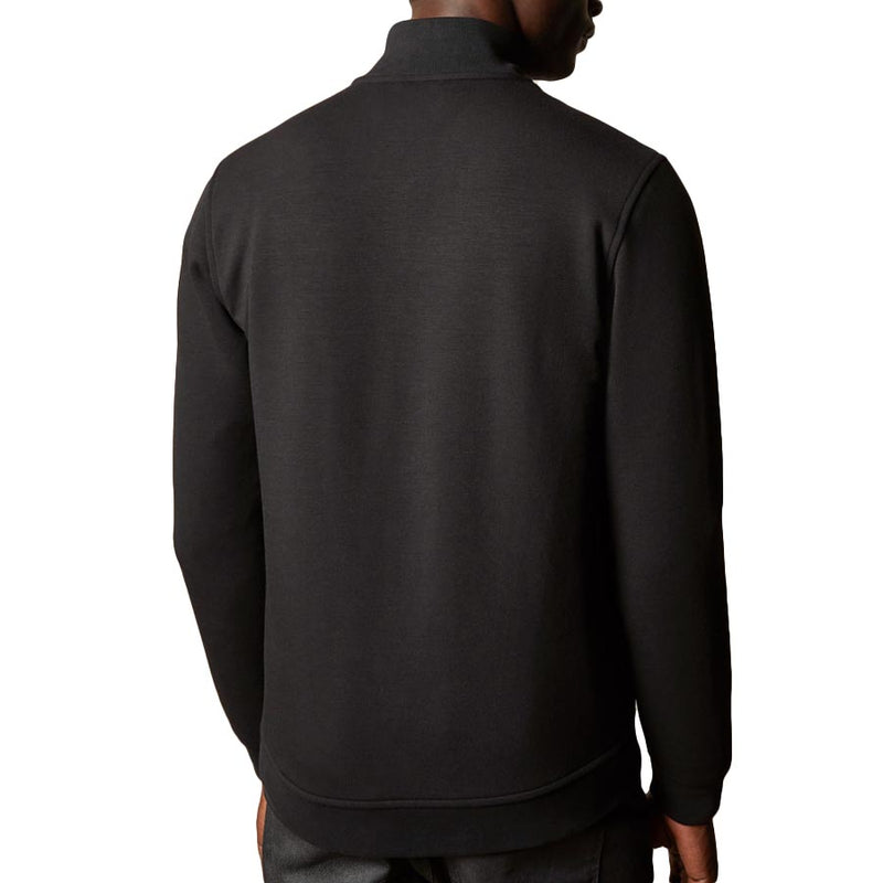 Ted Baker - PASPORT Quilted Funnel Neck Zip Through in Black - Nigel Clare