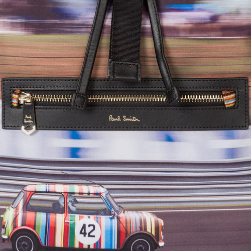 Paul Smith - 'Racing Mini' Canvas Print Backpack - Nigel Clare