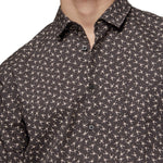 BOSS Orange - Magneton Slim Fit SS Shirt in Black - Nigel Clare