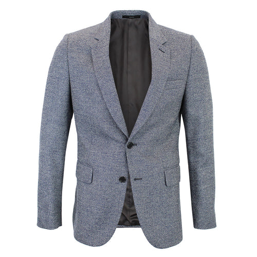 Paul Smith - Soho Tailored Fit Navy Mix Tweed Blazer - Nigel Clare