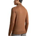 Ted Baker - NEWTRIK Fitted Roll Neck Jumper in Camel - Nigel Clare