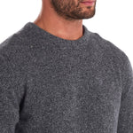 Barbour - Tisbury Crew Neck Jumper in Grey - Nigel Clare