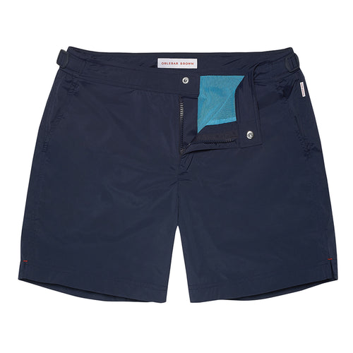 Orlebar Brown - Bulldog Sport Swim Shorts in Navy - Nigel Clare