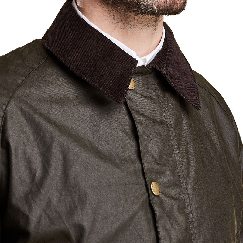 Barbour - Ashby Wax Jacket in Olive - Nigel Clare
