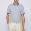 Hugo Boss - Prout 28 Reg Fit Polo Shirt in Blue - Nigel Clare