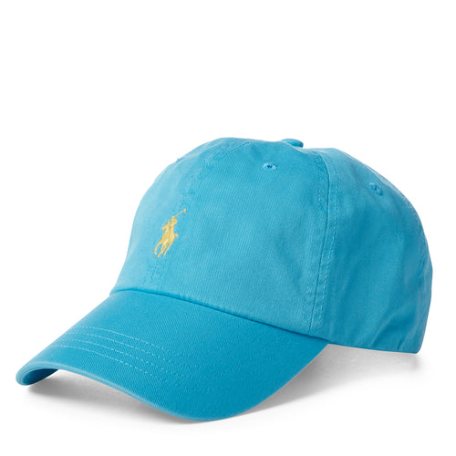 Polo Ralph Lauren - Cotton Chino Baseball Cap in Liquid Blue - Nigel Clare