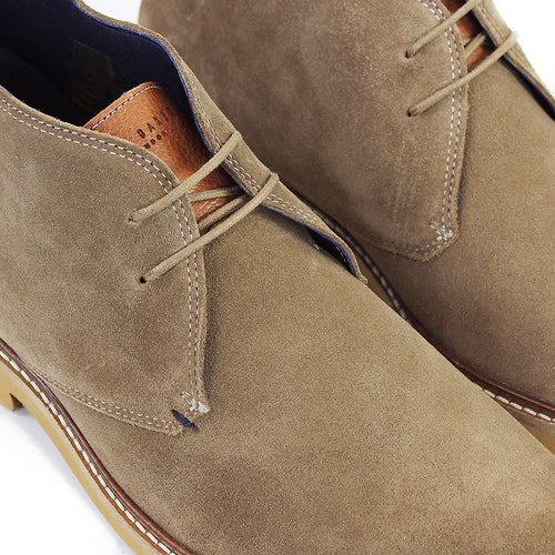 Ted Baker - Arguill Suede Desert Boots in Taupe - Nigel Clare