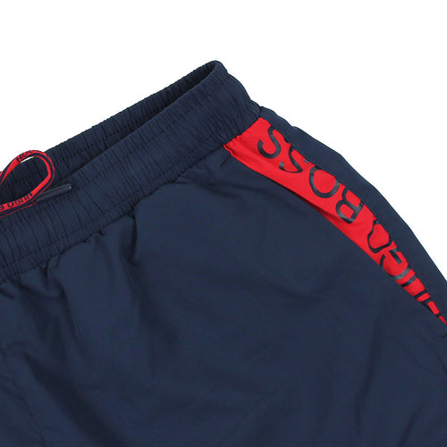 Hugo Boss - Mooneye Swim Shorts in Navy - Nigel Clare