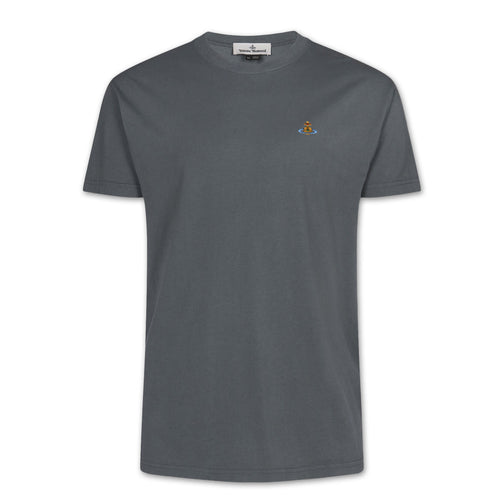 Vivienne Westwood - Multicolour Orb T-Shirt in Grey - Nigel Clare