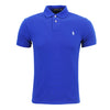 Polo Ralph Lauren - Slim Fit Mesh Polo Shirt in Blue - Nigel Clare