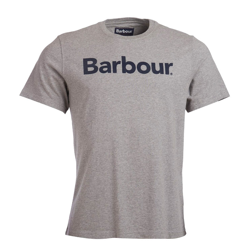 Barbour - Logo T-Shirt in Grey Marl - Nigel Clare
