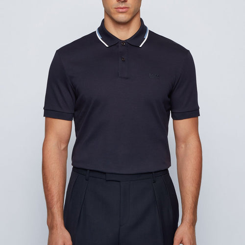 Hugo Boss - Parlay 104 Polo Shirt in Navy - Nigel Clare