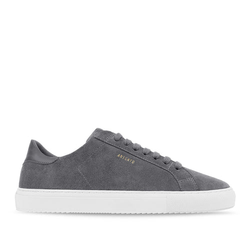 Axel Arigato - Clean 90 Suede Trainers in Grey - Nigel Clare