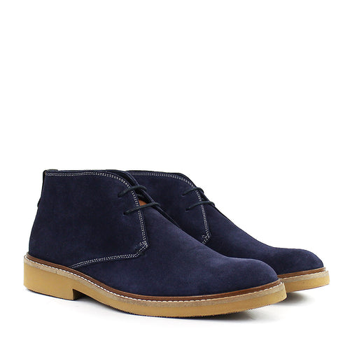 Ted Baker - Arguill Suede Desert Boots in Navy - Nigel Clare
