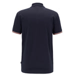Hugo Boss - Phillipson 49 Slim Fit Polo Shirt in Navy - Nigel Clare