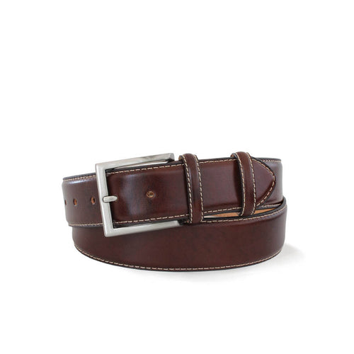 Robert Charles - 1140 Brown Stitch Belt - Nigel Clare