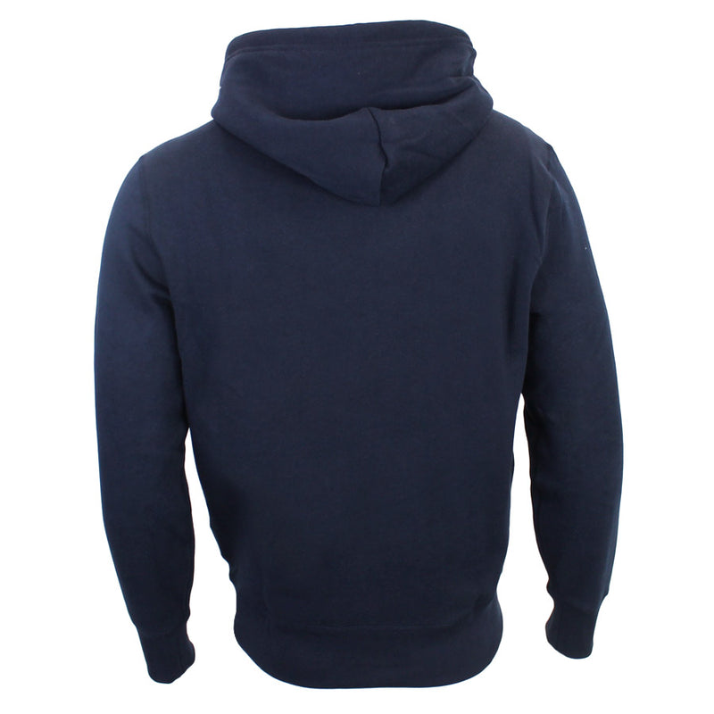 Polo Ralph Lauren - Classic Fleece Hoodie in Navy - Nigel Clare