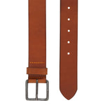 BOSS Orange - Jeeko Belt Leather Belt in Medium Brown - Nigel Clare