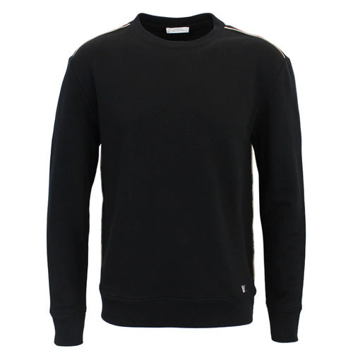 Versace Collection - Crew Neck Sweatshirt in Black - Nigel Clare