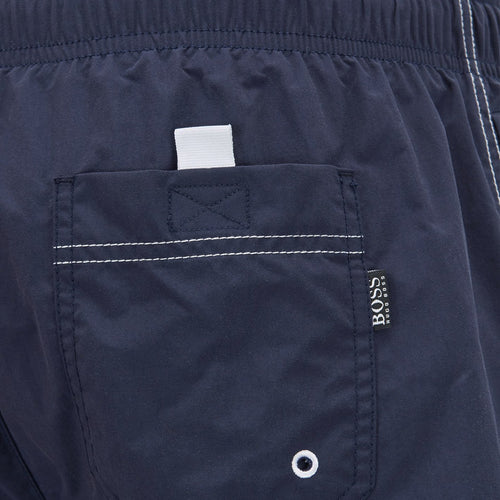 Hugo Boss - Perch Swim Shorts in Dark Blue - Nigel Clare
