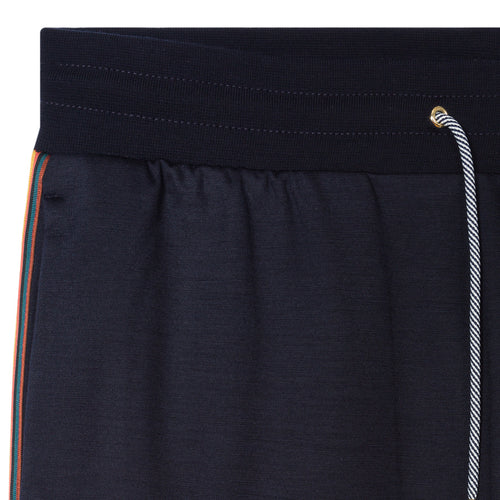 Paul Smith - Artist Stripe Sweatpants in Dark Navy - Nigel Clare