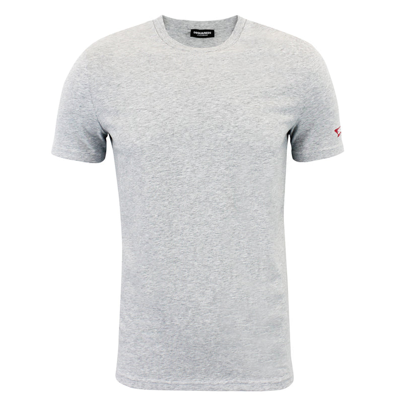 DSQUARED2 - Crew Neck T-Shirt in Grey - Nigel Clare