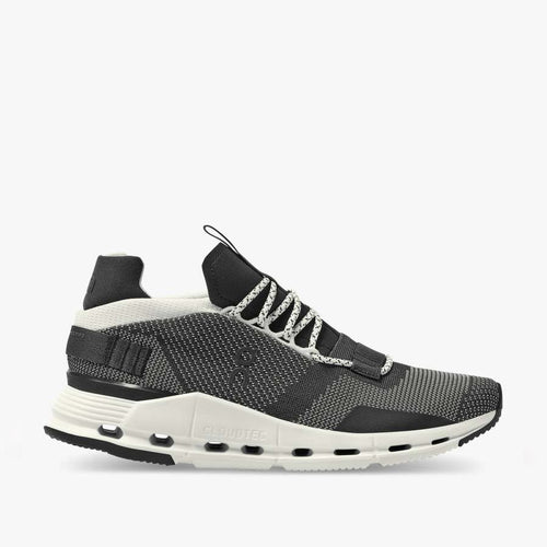 On Running - Cloudnova Trainers in Black/White