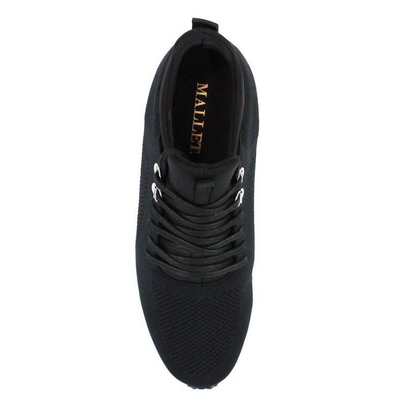 Mallet - Tech Runner Trainers in Black - Nigel Clare