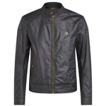 Belstaff - Kelland Waxed Jacket in Black - Nigel Clare