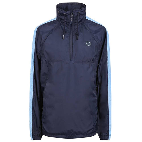 Pretty Green - Overhead Hooded Jacket in Navy - Nigel Clare