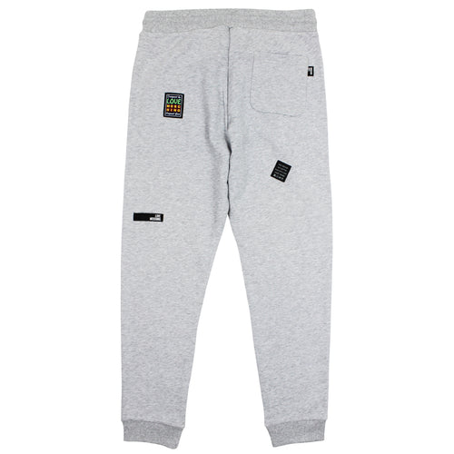 Love Moschino - Patch Logo Joggers in Grey - Nigel Clare