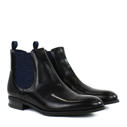 Ted Baker - Tradd Leather Chelsea Boots in Black - Nigel Clare