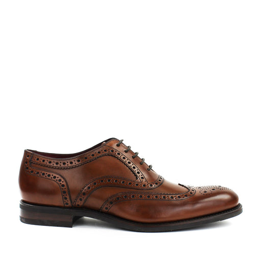 Loake - Kerridge CD Oxford Brogues in Cedar - Nigel Clare